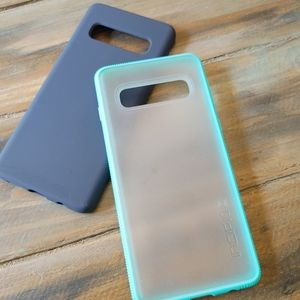 LOT of (2) Samsung Galaxy S10 cases